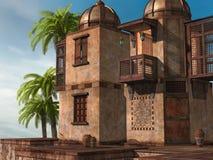 Восточный дворец бесплатная иллюстрация