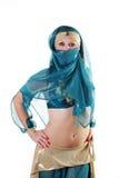 восточный костюм девушки Стоковые Фотографии RF