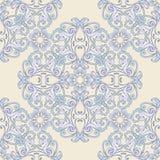 Восточный круглый красочный орнамент Предпосылка безшовного вектора богато украшенная Стоковые Изображения RF