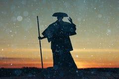 Восточный монах стоковое фото rf
