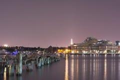 Восточный док Бостона стоковые фото