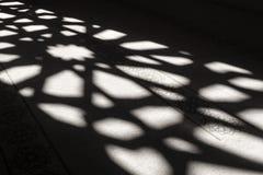 Восточный орнамент от света окна Стоковое Фото