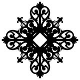 Восточный орнамент украшает вектор иллюстрация штока