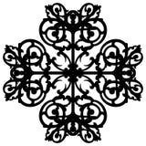 Восточный орнамент украшает вектор иллюстрация вектора