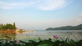 Восточный пейзаж озера Стоковое фото RF