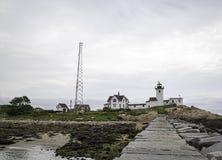 восточный пункт маяка Стоковое Изображение