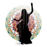 Восточный танцор танца Стоковая Фотография RF