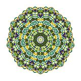 Восхитительная арабская мандала иллюстрация вектора