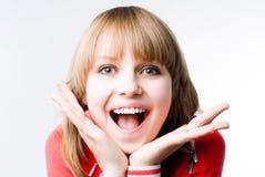 восхитительная девушка Стоковое Фото