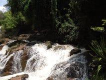 восхитительный водопад стоковое изображение