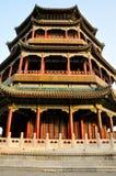 Восхитительный дворец лета построенный в Пекин Стоковые Изображения RF