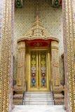 Восхитительная золотая дверь Стоковые Изображения