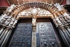 Восхитительно дверь стоковая фотография