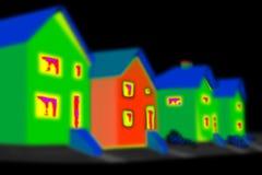 восходящий поток теплого воздуха изображения Стоковая Фотография