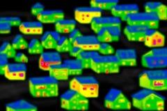 восходящий поток теплого воздуха изображения Стоковое фото RF