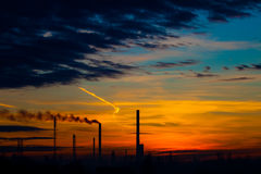 восходящий поток теплого воздуха силы завода Стоковые Фото