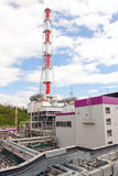 восходящий поток теплого воздуха силы завода Стоковое фото RF