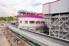восходящий поток теплого воздуха силы завода Стоковое Изображение RF