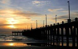 восход солнца Аргентины de mar ajo Стоковые Фото