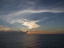 Восход солнца без солнца стоковые изображения rf