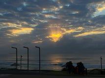 Восход солнца более темный Стоковое Фото