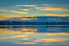Восход солнца входа Budd стоковое фото
