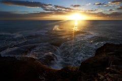 восход солнца выплеска Стоковые Изображения