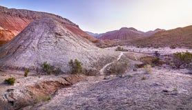 Восход солнца в горах пустыни Стоковая Фотография RF