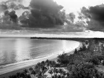 Восход солнца в Isla Verde Стоковое Фото