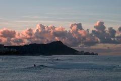 восход солнца диаманта головной стоковая фотография rf