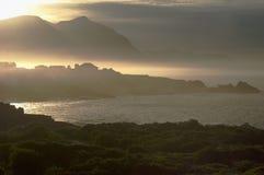восход солнца залива Стоковое Изображение