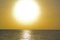 Восход солнца Занзибар Стоковые Изображения