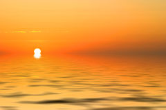 восход солнца зарева стоковые фото