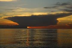 Восход солнца звука Hobe стоковые изображения rf