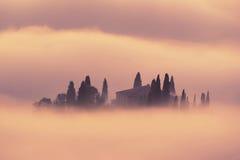 восход солнца Италии Стоковое фото RF