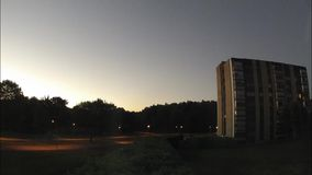 Восход солнца и заход солнца акции видеоматериалы