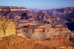 восход солнца каньона грандиозный Стоковые Изображения RF