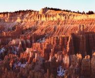 восход солнца каньона bryce Стоковые Изображения RF