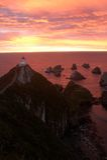 восход солнца маяка стоковая фотография rf