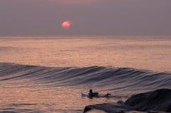 восход солнца молы стоковые фото