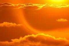 восход солнца моря свободного полета Стоковые Фотографии RF