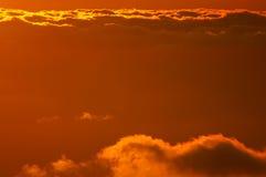 восход солнца моря свободного полета Стоковое фото RF