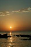 восход солнца моря Стоковое фото RF