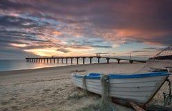 Восход солнца моря стоковая фотография rf