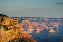 Восход солнца над грандиозным каньоном Стоковые Фото