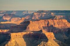 Восход солнца над грандиозным каньоном Стоковое фото RF
