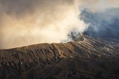 Восход солнца на вулкане Mt Bromo Gunung Bromo East Java, Индонезия стоковое изображение rf