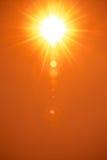 Восход солнца на лете Стоковые Фото