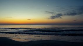 Восход солнца на Чёрном море видеоматериал