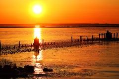 Восход солнца на Lake Superior Стоковая Фотография RF